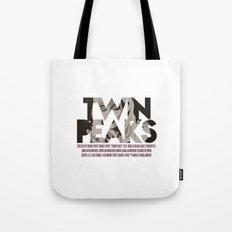 Twin Peaks Poster Tote Bag