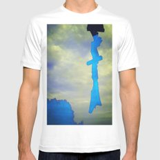 Signs in the Sky Collection - Hope MEDIUM Mens Fitted Tee White