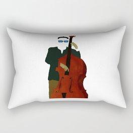 Bottom - A Celebration of the Bass Rectangular Pillow