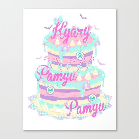 Kyary Pamyu Pamyu 5 T-shirt Canvas Print