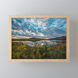 Wichitas Wonder - Fall Colors and Big Sky in Oklahoma Framed Mini Art Print
