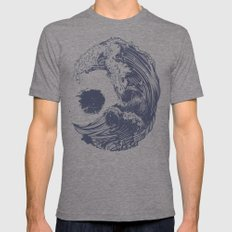 Swell Tri-Grey LARGE Mens Fitted Tee