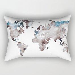 world map 73 Rectangular Pillow