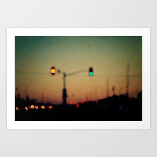 """Life is a journey, not a destination."" Art Print"