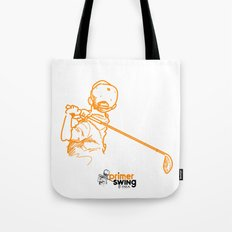 Primer Swing by Piza Golf Design Tote Bag