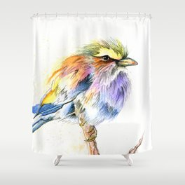 Badass Bird Shower Curtain