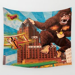 Milwaukee vs. the Super Ape Wall Tapestry