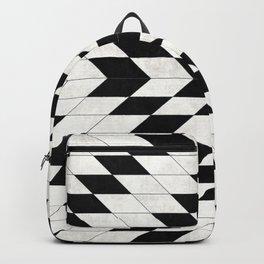 Urban Tribal Pattern No.15 - Aztec - White Concrete Backpack