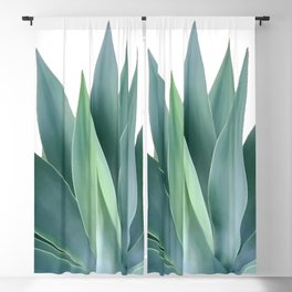Agave blanco Blackout Curtain