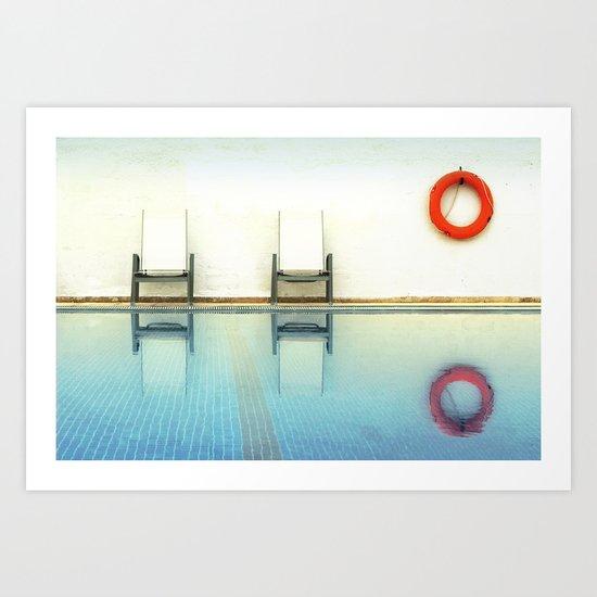 Then Summer Art Print
