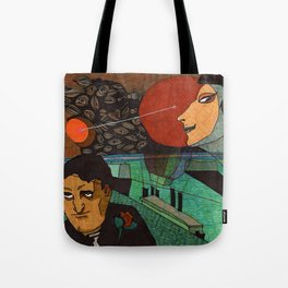 Date at the sunset Tote Bag