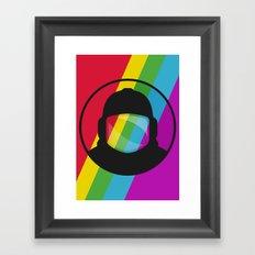 Retronaut. Framed Art Print