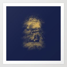 The End of the World Art Print