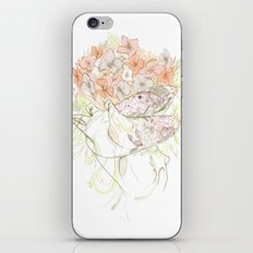 There's a Feeling In My Chest That Wants to Glide Like Leaves, and Set Like Fires 1/2 iPhone & iPod Skin
