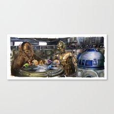 Star Wars - Let the Wookiee Win Canvas Print