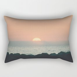Sunset Ocean Bliss #2 #nature #art #society6 Rectangular Pillow