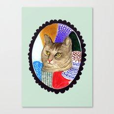 KITTY / TABBY Canvas Print