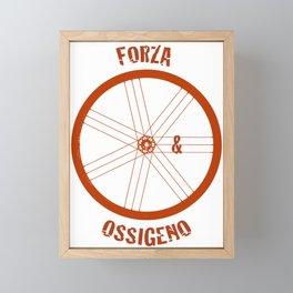 Forza e Ossigeno Framed Mini Art Print