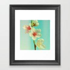 This looks like spring! Framed Art Print