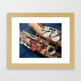 Sax-fly Framed Art Print