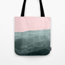 Smoky Mountain Summer Tote Bag