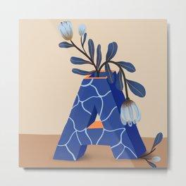 Vase A Metal Print