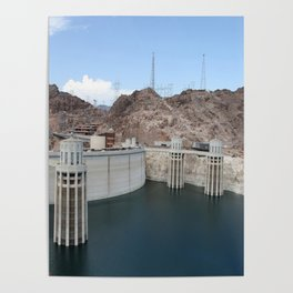 Hoover Dam And Lake Mead Poster