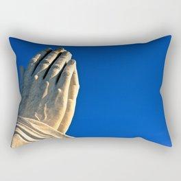 The Day's Final Prayer Rectangular Pillow