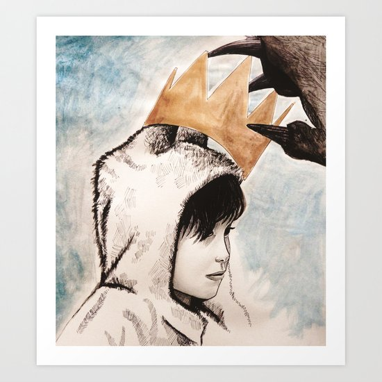 Where the wild things are Art Print