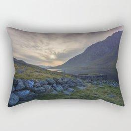 Llyn Ogwen Sunrise Rectangular Pillow