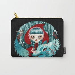 Red of the Woods Carry-All Pouch