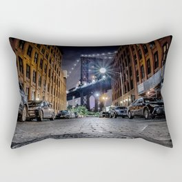 DUMBO, New York City Rectangular Pillow