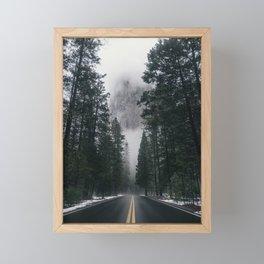 Forest Way Framed Mini Art Print