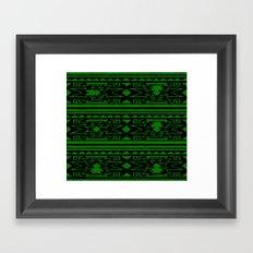 Aztec 3# Framed Art Print