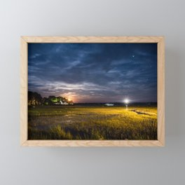 Star Gazing Framed Mini Art Print