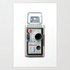 Brownie 8mm Movie Camera Art Print