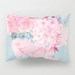 Woman in flowers II Pillow Sham