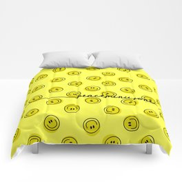 PMO Yellow Happiness Comforters