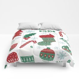 Christmas Pattern 05 Comforters