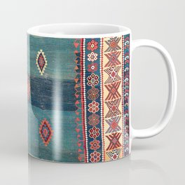 Sivas Antique Turkish Niche Kilim Print Coffee Mug