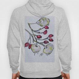 Winter Rose Hips Hoody