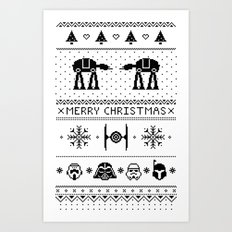 May the Christmas Spirit be with you. Art Print