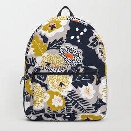 Scandinavian flowers greet you Backpack
