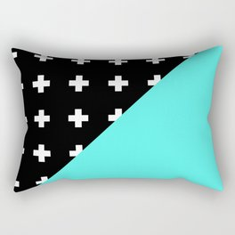 Memphis pattern 78 Rectangular Pillow