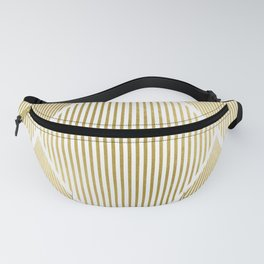 Folded Gold Fanny Pack