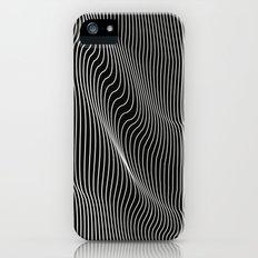 Minimal curves black Slim Case iPhone (5, 5s)
