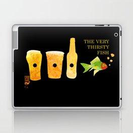 the very thirsty fish Laptop & iPad Skin