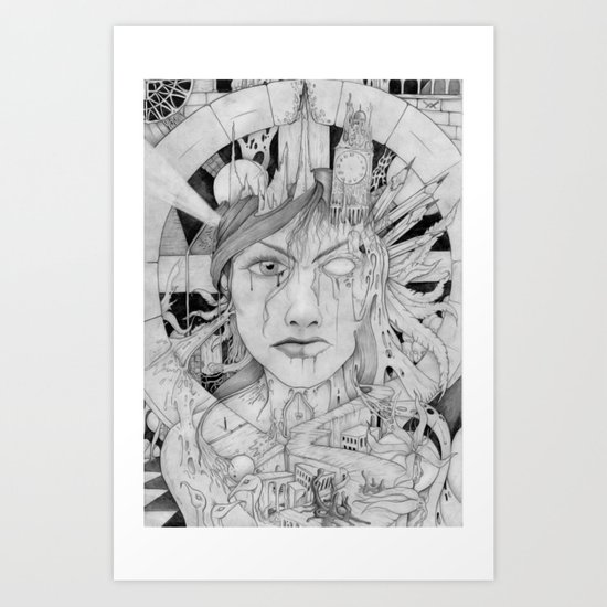 muza Art Print