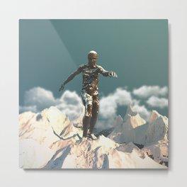 Day 0189 /// The Earth, The Flesh Metal Print