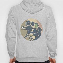 Cameraman Moviemaker Vintage Camera Retro Hoody